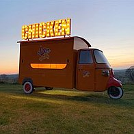 Chicken Little Burger Van