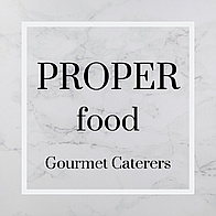 Proper Food Gourmet Caterers Buffet Catering