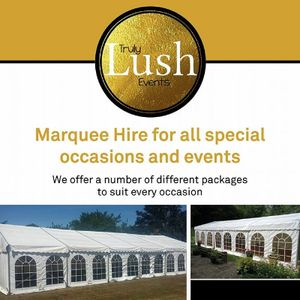 Truly Lush Events Stretch Marquee