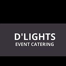 D'Lights Event Catering Popcorn Cart