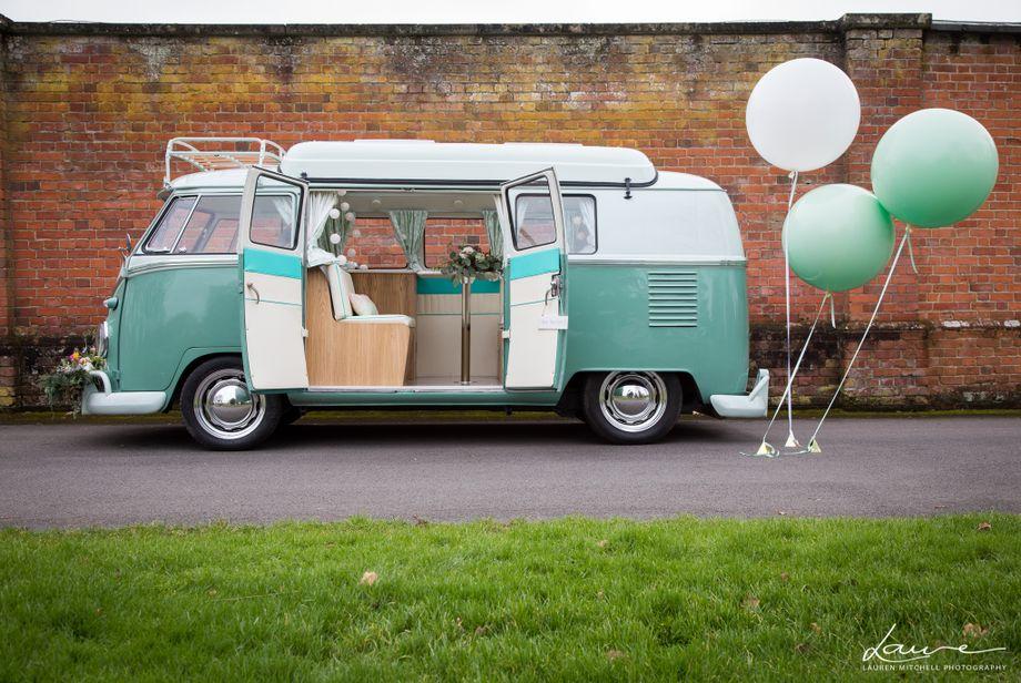 McTrigg Campers - VW Splitscreen Wedding Hire - Transport  - Farnborough - Hampshire photo