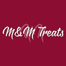 M&M Treats Popcorn Cart