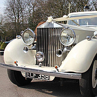 Lifestyle Chauffeurs Wedding car
