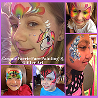Cosmic Faerie Face Painting Face Painter