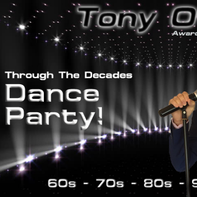 Through The Decades Dance Party - 60s 70s 80s 90s 2000s Live Solo Singer