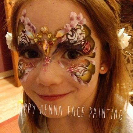 Happy Henna Face Painting and Body Art - Children Entertainment , East Grinstead,  Face Painter, East Grinstead