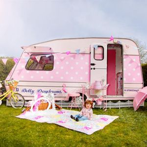 Dollydaydreams Party Caravan Candy Floss Machine