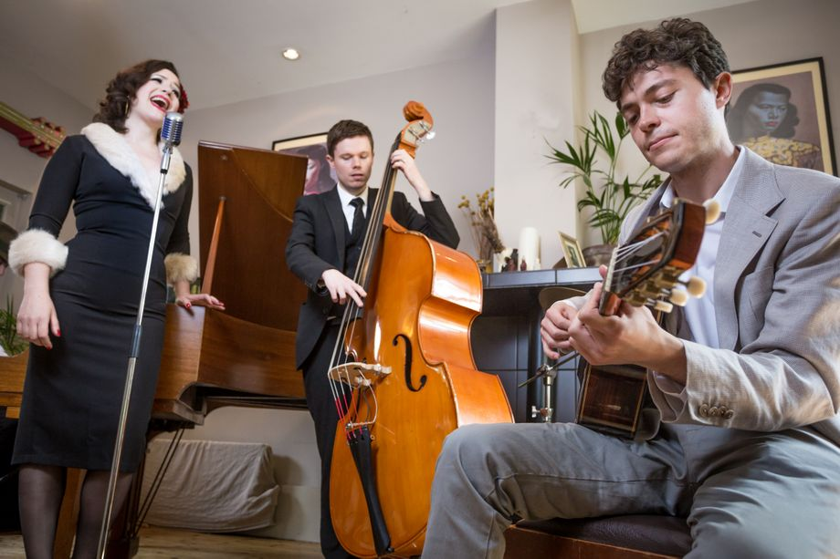 The Red Hot Rags -  Energetic Swing & Jazz Band - Live music band Singer  - London - Greater London photo