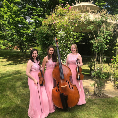 Exclusive Blue Topaz String Trio Ensemble