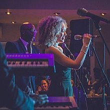 Liv Campbell Jazz Singer