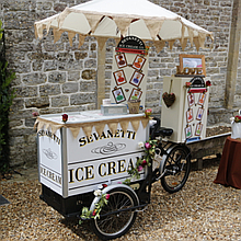 Sevanetti Ice Cream Bikes Catering