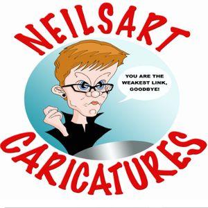 Neilsart Caricatures Caricaturist