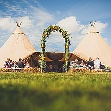 Timber & Canvas Marquee & Tent