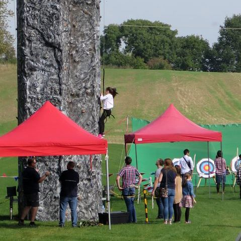 On Targett Events Ltd - Games and Activities , Bicester,  Mobile Archery, Bicester Mobile Climbing Wall, Bicester