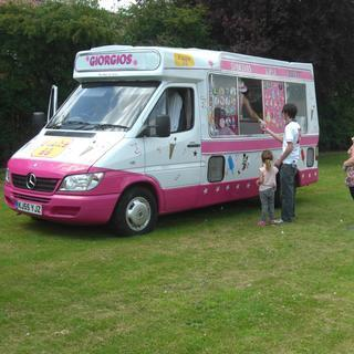 Giorgios  Ice Cream Vans Ice Cream Cart