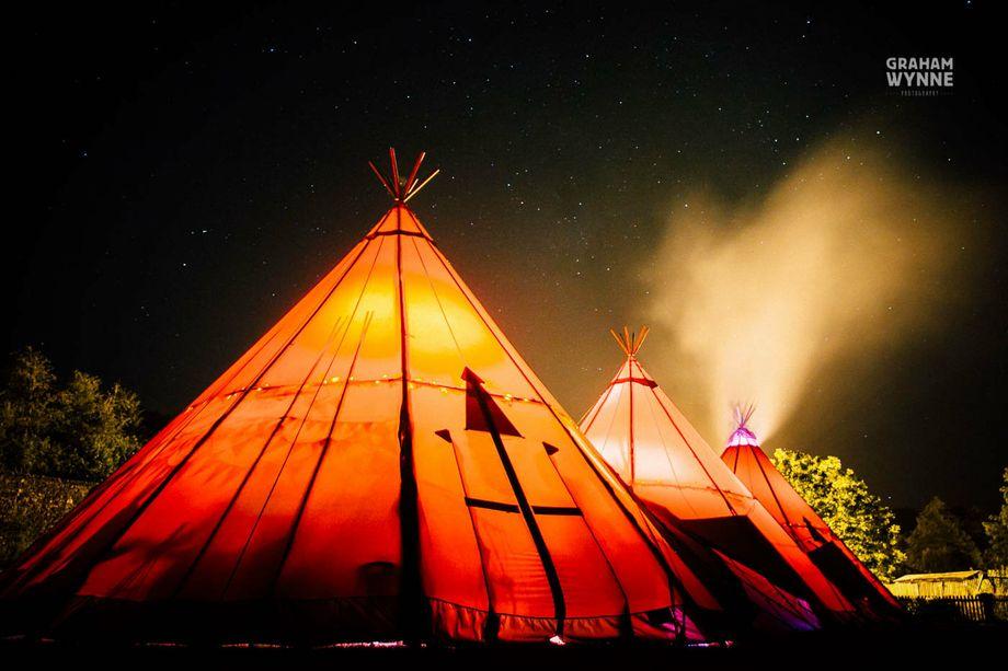 Fjell  Event Tipis - Marquee & Tent Event Equipment  - Keswick - Cumbria photo