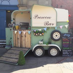 Bubbles and Chic Mobile Bar