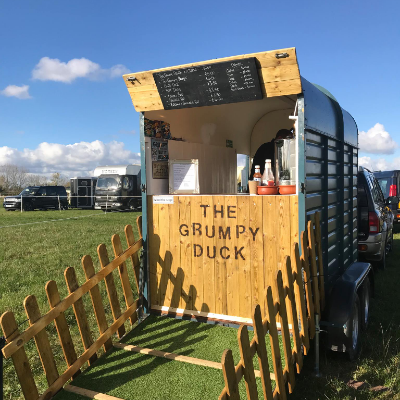 The Grumpy Duck Burger Van