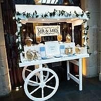 Sweetie Mountain Sweets and Candies Cart