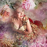 Vintage Celine Rose Singer