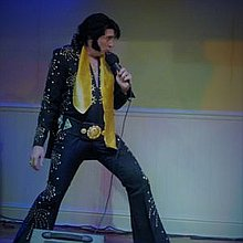 James Burrell as Elvis Presley Tribute Band