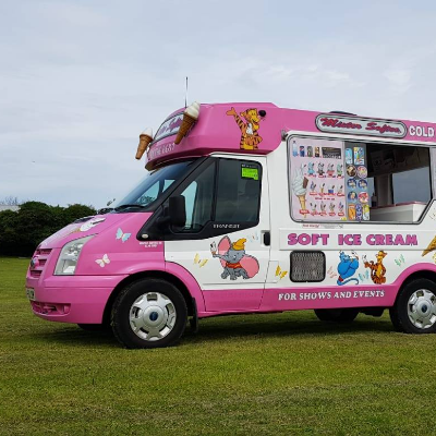 MISTER SOFTEE UK Ice Cream Cart