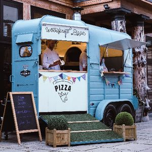 Pizza Box Mobile Caterer