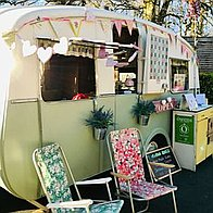 Vintage Doris - cafe caravan Wedding Catering