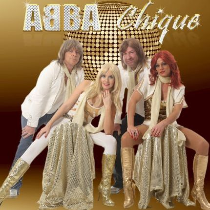 ABBA Chique Impersonator or Look-a-like