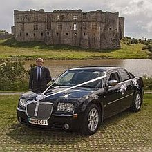 C & R Wedding Cars Chauffeur Driven Car