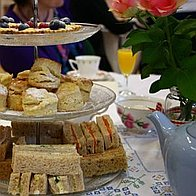 Very Vintage Tea Party Corporate Event Catering