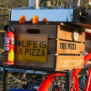 The Pizza Bike Food Van