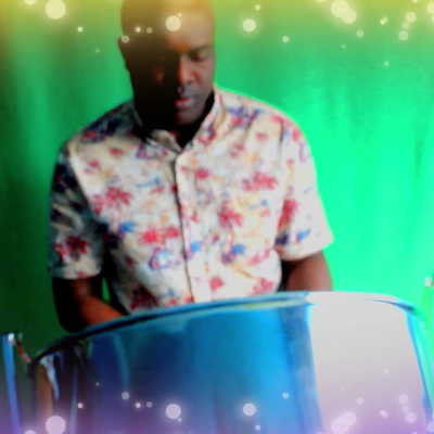 Steel Drum Soloist Singing Guitarist