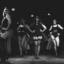 Chic BonBons Burlesque Dancer