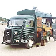 The wild food kitchen Burger Van