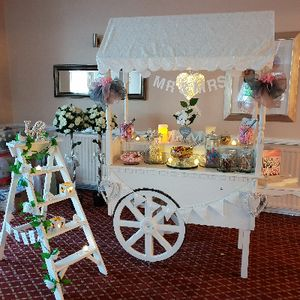 Sweet Like Candy Cart Wedding Catering