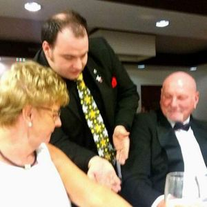 Matthew Barker Entertainment Table Magician