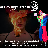 Acting Moon Events - Photo or Video Services , Eastbourne, Children Entertainment , Eastbourne, Magician , Eastbourne, Circus Entertainment , Eastbourne,  Close Up Magician, Eastbourne Fire Eater, Eastbourne Stilt Walker, Eastbourne Acrobat, Eastbourne Aerialist, Eastbourne Juggler, Eastbourne Table Magician, Eastbourne Wedding Magician, Eastbourne Balloon Twister, Eastbourne Face Painter, Eastbourne Children's Magician, Eastbourne Illusionist, Eastbourne Corporate Magician, Eastbourne Children's Music, Eastbourne Tightrope Walker, Eastbourne Contortionist, Eastbourne Trapeze Artist, Eastbourne Sword Swallower, Eastbourne Balancing Act, Eastbourne Circus Entertainer, Eastbourne Mime, Eastbourne Clown, Eastbourne