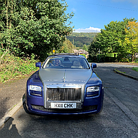 VIP Chauffeur Services Wedding car