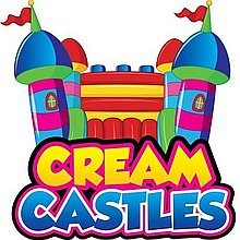 Cream Castles Bouncy Castle