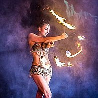 Voodoo Tuesday Burlesque Dancer