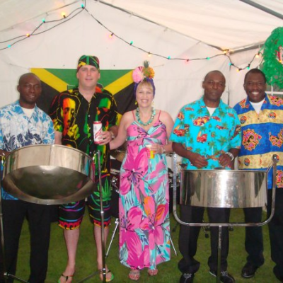 Juma Steel Band Gypsy Jazz Band