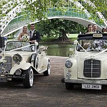 Weddingbubblecars Ltd Wedding car