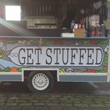 Go Get Stuffed Burger Van