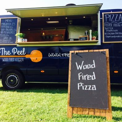 The Peel: Wood Fired Kitchen Food Van