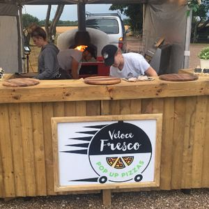 Veloce Fresco Pop Up Pizzas Buffet Catering