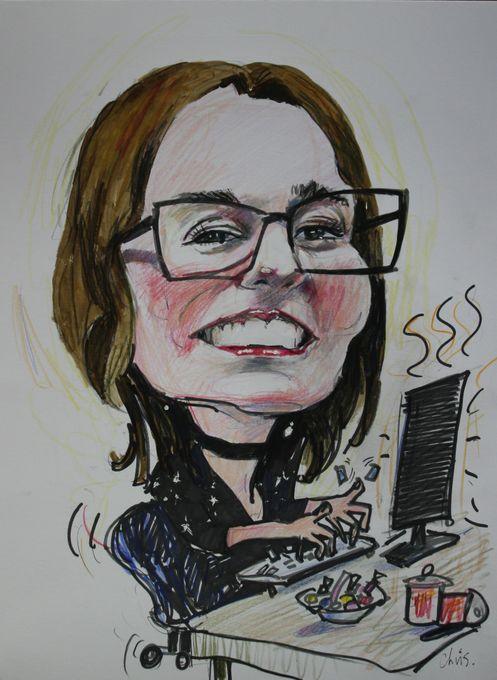 Chris Taylor Caricatures - Caricaturist  - Linlithgow - West Lothian photo