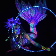 UV Mermaid Circus Entertainment