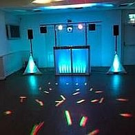 DJ Decks Mobile Disco DJ