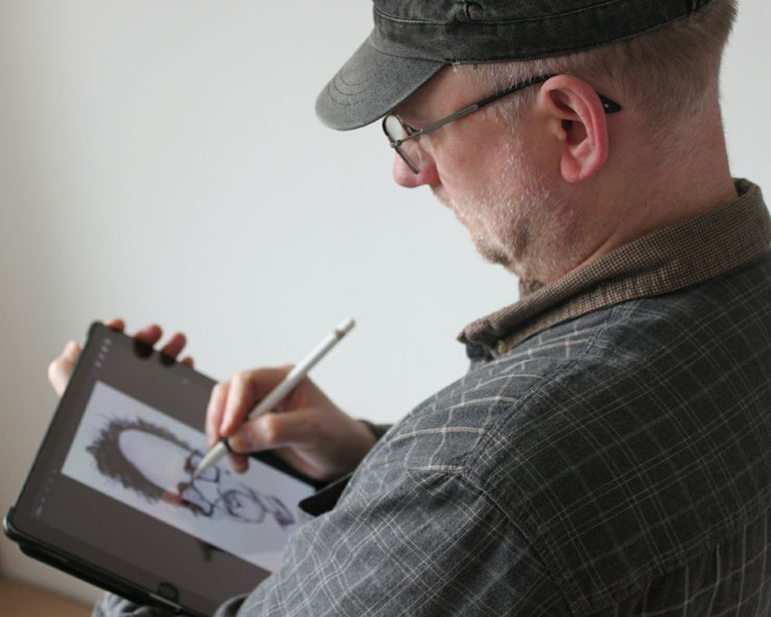 CHRIS PAVLICK - THE CARICATURIST - Children Entertainment Caricaturist  - Bristol - Avon photo